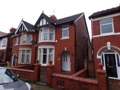 3 Bedrooms House for sale in Gorse Road, Blackpool, Lancashire, FY3