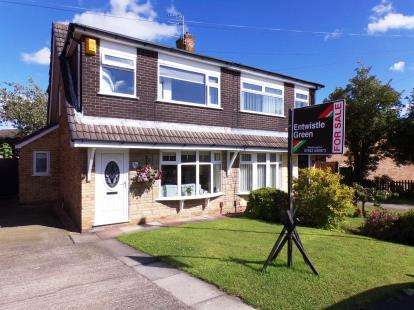 3 Bedrooms Semi Detached House for sale in Aylesbury Crescent, Hindley Green, Wigan, Greater Manchester, WN2