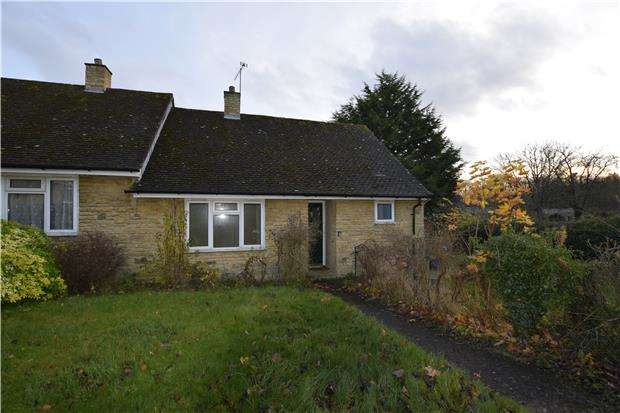 1 Bedroom Bungalow for sale in Ledwell Road, Sandford St Martin, Chipping Norton, Oxon, OX7 7AH