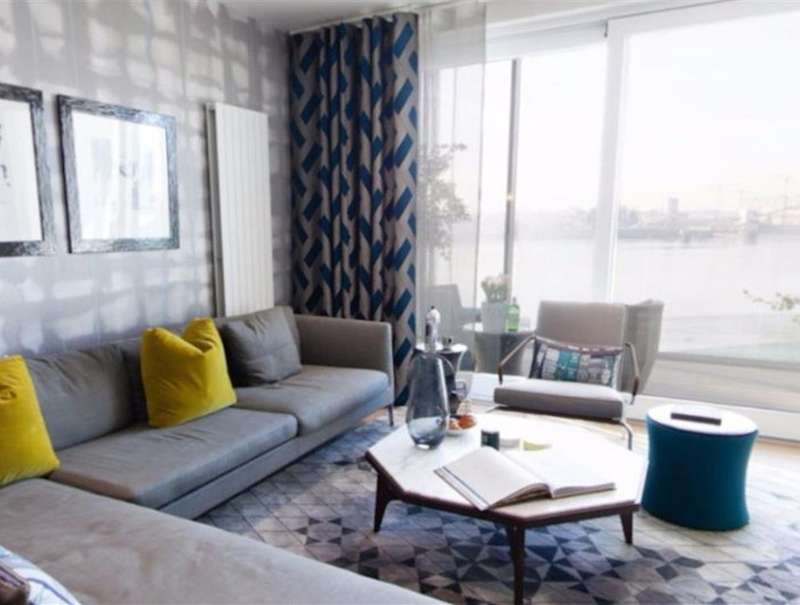 2 Bedrooms Flat for sale in Liner House, Royal Wharf