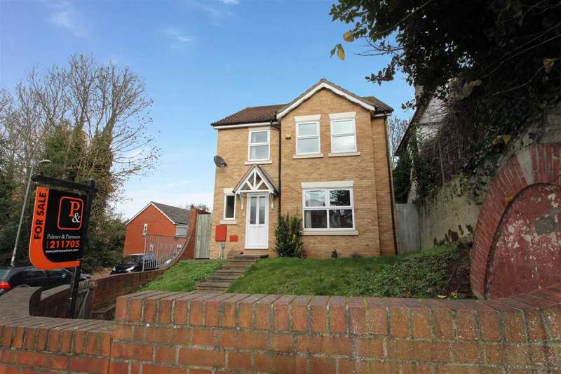 4 Bedrooms Detached House for sale in Mitre Way, Ipswich