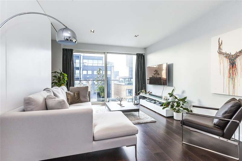 2 Bedrooms Flat for sale in Boardwalk Place, London, E14