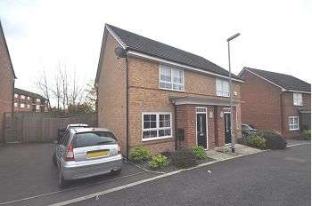 2 Bedrooms Semi Detached House for sale in Junction Crescent, Newcastle, Staffs, ST5 9GZ