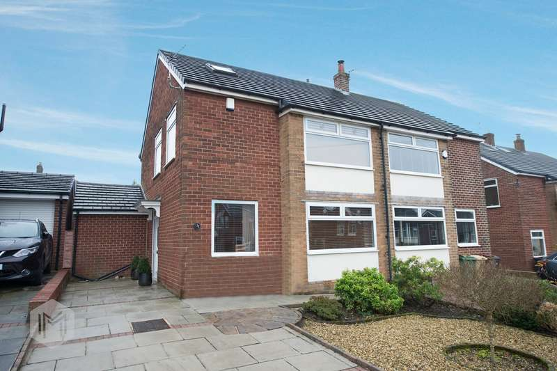 3 Bedrooms Semi Detached House for sale in Astley Road, Bolton, BL2