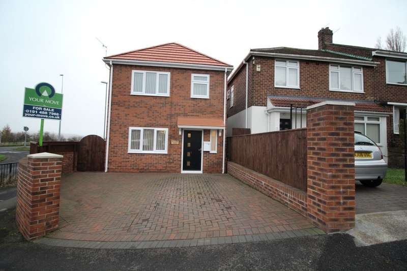 3 Bedrooms Detached House for sale in Oakfield Road, Lobley Hill, Gateshead, NE11