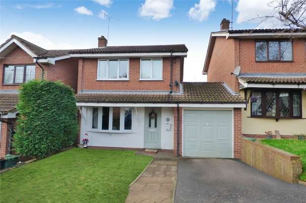 3 Bedrooms Link Detached House for sale in Fielding Way, Galley Common, Nuneaton, Warwickshire