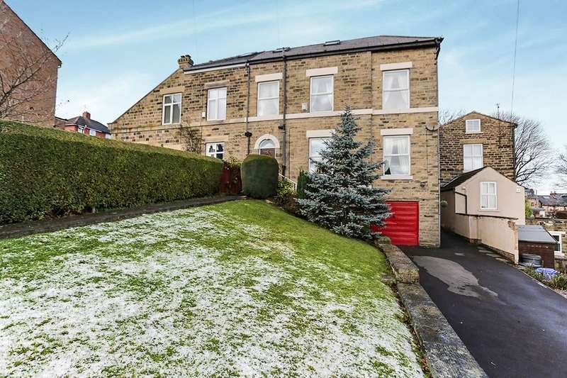 4 Bedrooms Semi Detached House for sale in Fir Street, Sheffield, S6