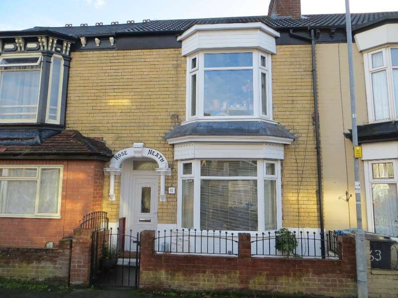 2 Bedrooms Terraced House for sale in Perth Street, Hull, HU5 3NU