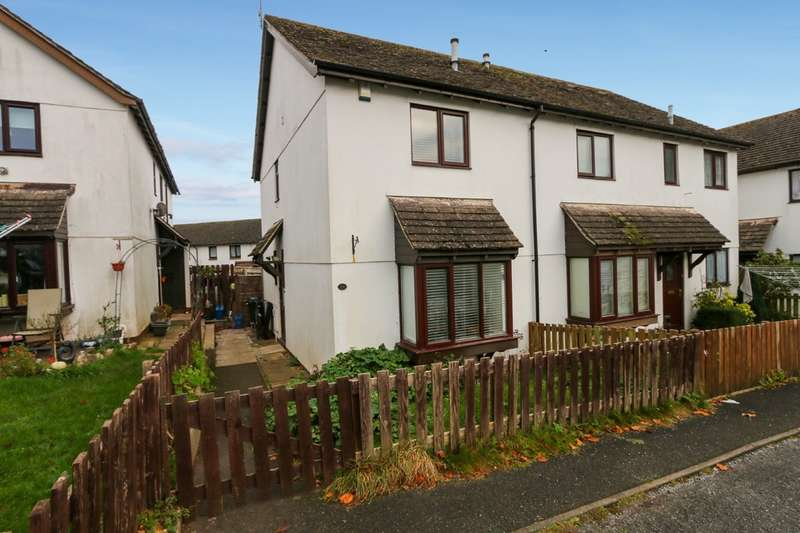 2 Bedrooms Semi Detached House for sale in Taylor Close, Dawlish
