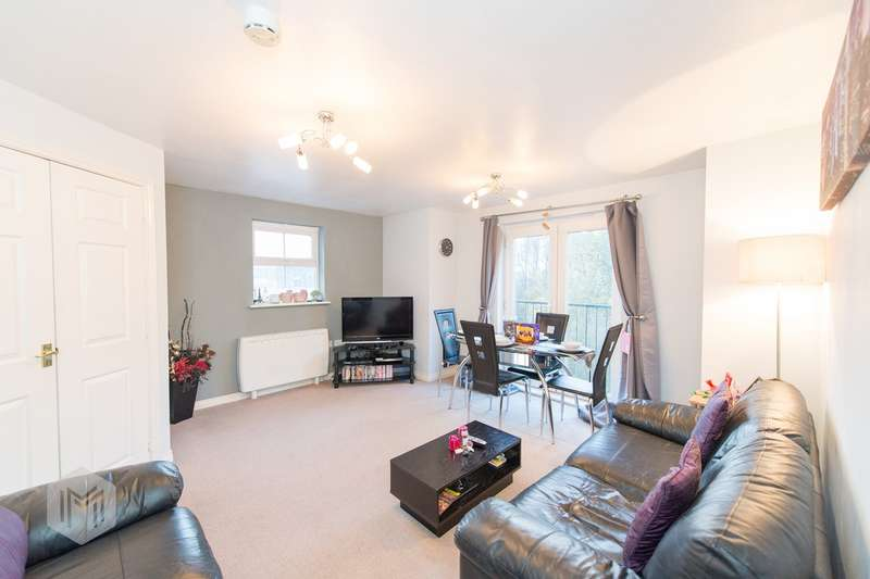 2 Bedrooms Apartment Flat for sale in Stonemere Drive, Radcliffe, Manchester, M26