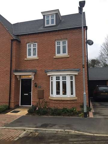 3 Bedrooms Semi Detached House for sale in Longbreach Road, Kibworth Harcourt, LE8