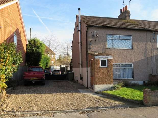 2 Bedrooms Semi Detached House for sale in Hawthorn Road, SITTINGBOURNE, Kent