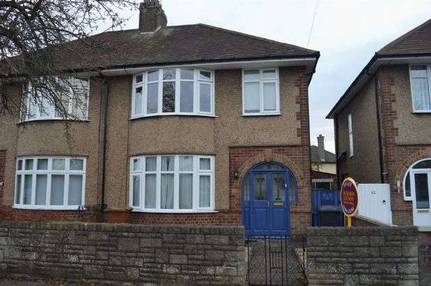 3 Bedrooms Semi Detached House for rent in Broadmead Avenue, Abington, Northampton NN3 2QY