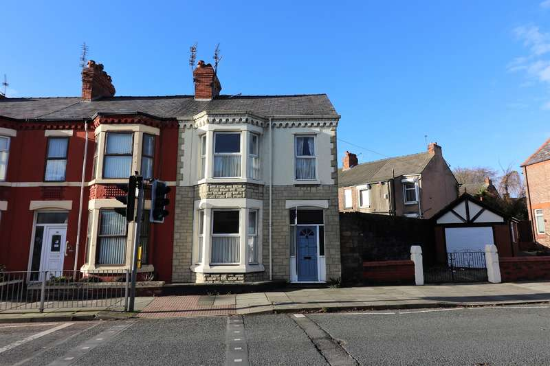 3 Bedrooms End Of Terrace House for sale in Rake Lane, Wallasey, CH45 5DH