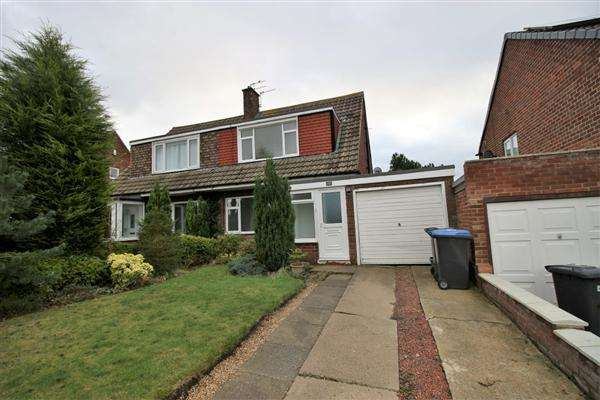 3 Bedrooms Semi Detached House for rent in Runnymede, Great Lumley, Chester le Street