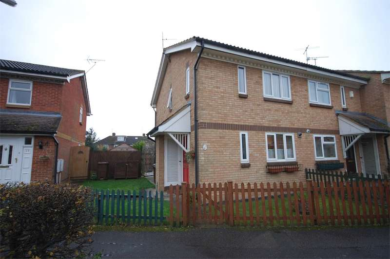 2 Bedrooms End Of Terrace House for sale in Parker Walk, Aylesbury, HP19