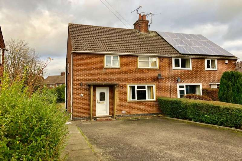 3 Bedrooms Semi Detached House for sale in Brook Close, Alfreton, DE55