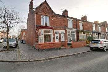3 Bedrooms End Of Terrace House for sale in West Avenue, Crewe, CW1 3AD