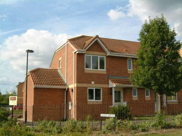 3 Bedrooms Semi Detached House for rent in Hugo Drive, Abbey Meads, Swindon, Wiltshire, SN25 4GY