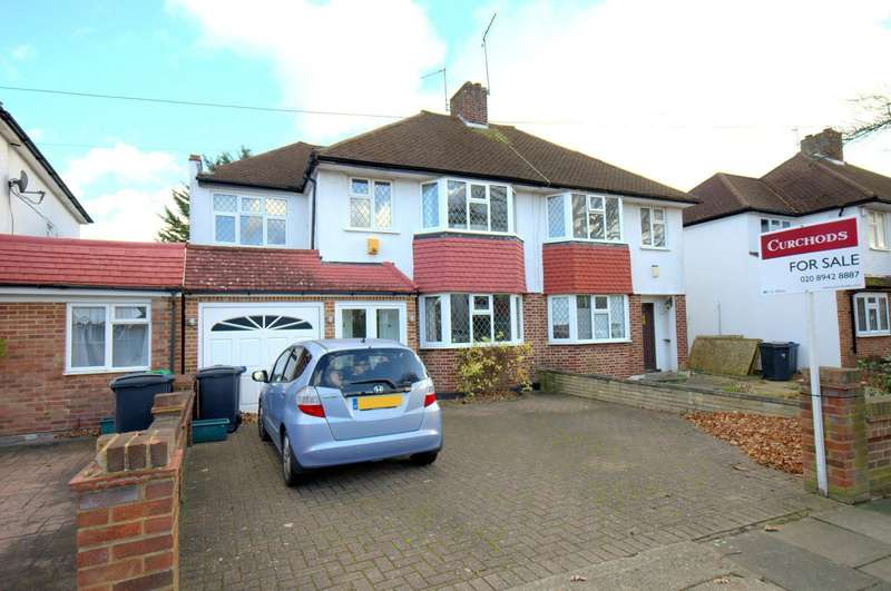 4 Bedrooms Semi Detached House for sale in Motspur Park