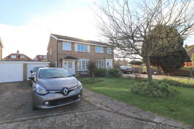 3 Bedrooms Semi Detached House for sale in Brookmead Close, Eastbourne, BN22