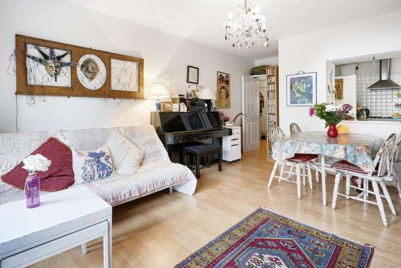 2 Bedrooms Flat for sale in Brownswood Road, London N4