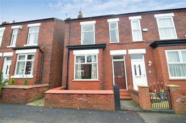3 Bedrooms Semi Detached House for sale in Toronto Road, Heavily, Stockport
