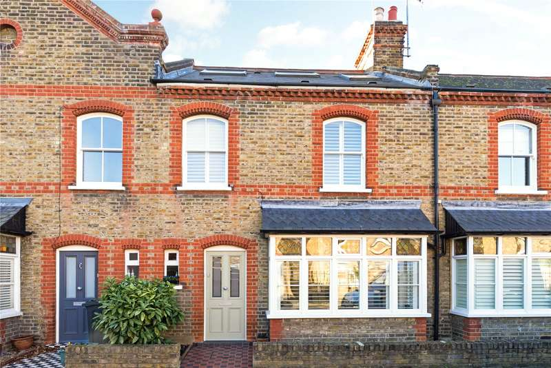3 Bedrooms Terraced House for sale in Brackley Terrace, London, W4