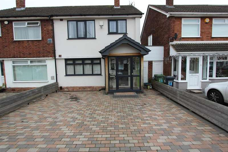 3 Bedrooms Semi Detached House for rent in Digby Drive, Marston Green