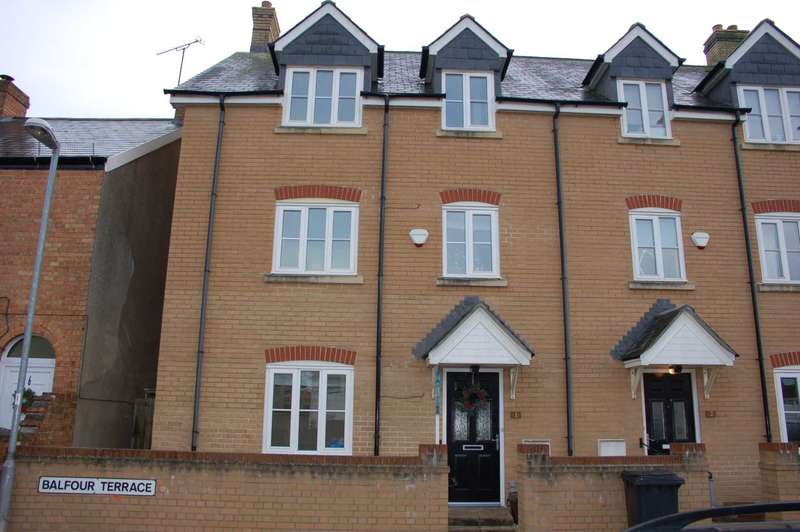 4 Bedrooms End Of Terrace House for sale in Balfour Terrace, Taunton