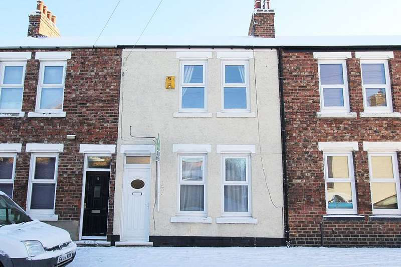 2 Bedrooms Terraced House for sale in Myrtle Road, Eaglescliffe, Stockton-on-Tees, Durham, TS16 0AL