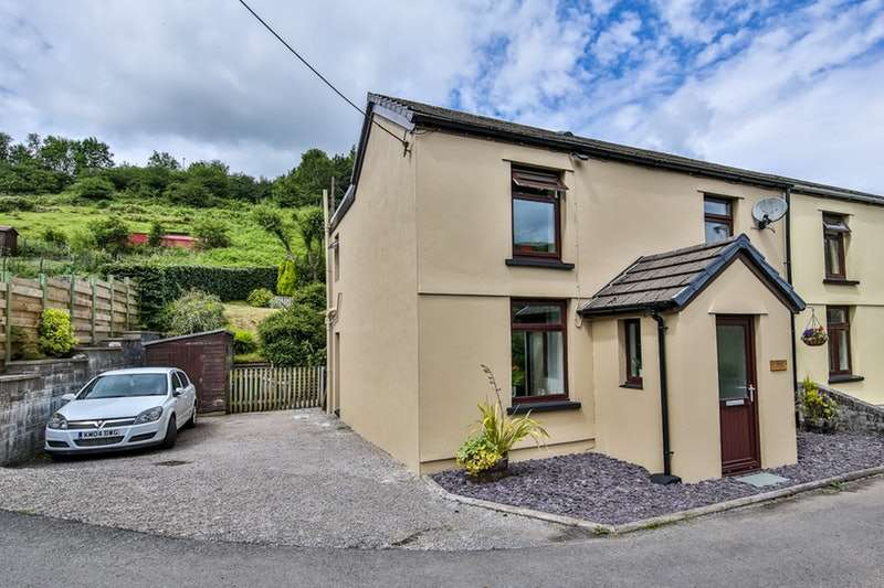 3 Bedrooms Semi Detached House for sale in Bute Terrace, New Tredegar, Caerffili, NP24