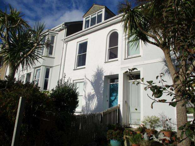 5 Bedrooms Terraced House for sale in Bellair Terrace, St. Ives, Cornwall