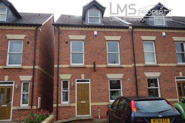 3 Bedrooms Town House for rent in Weaver Street, Winsford