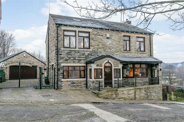 4 Bedrooms Detached House for sale in Stoney Hill, Brighouse, West Yorkshire