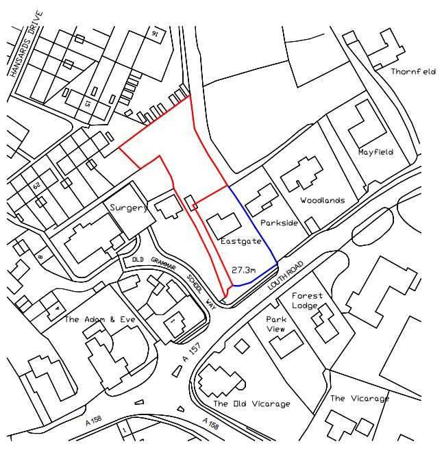 Land Commercial for sale in Land behind Eastgate, Louth Road, Wragby, Market Rasen