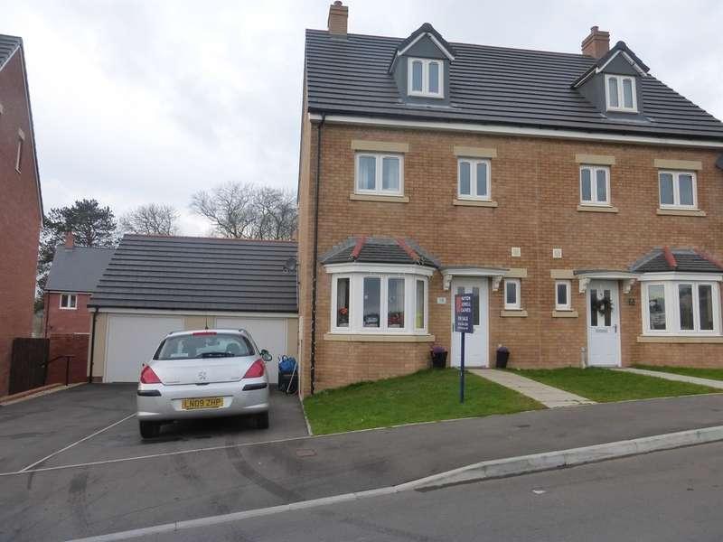 4 Bedrooms Semi Detached House for sale in Trem Gwlad Yr Haf, Coity, Bridgend
