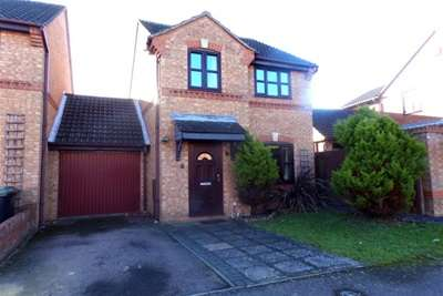 3 Bedrooms Link Detached House for rent in Grovebury, Wootton, MK43