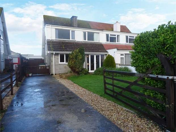 3 Bedrooms Semi Detached Bungalow for sale in Church House Road, Berrow, Burnham-on-Sea, Somerset