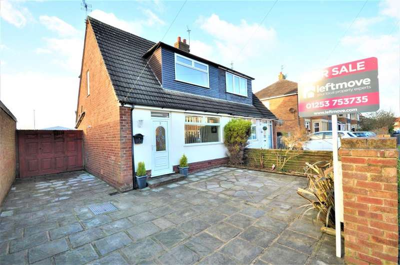 2 Bedrooms Semi Detached House for sale in Southfield Drive, Normoss, Blackpool, Lancashire, FY3 0AN