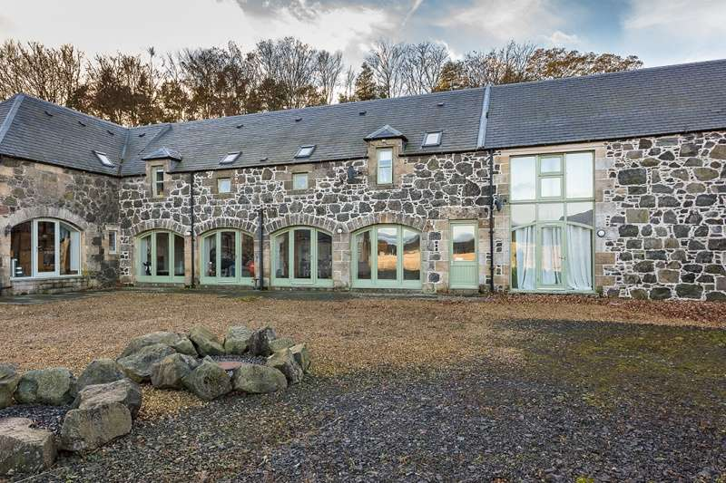 4 Bedrooms Farm House Character Property for sale in Blinkbonny Farm Steading, East of Lindores, Fife, KY14 6JE