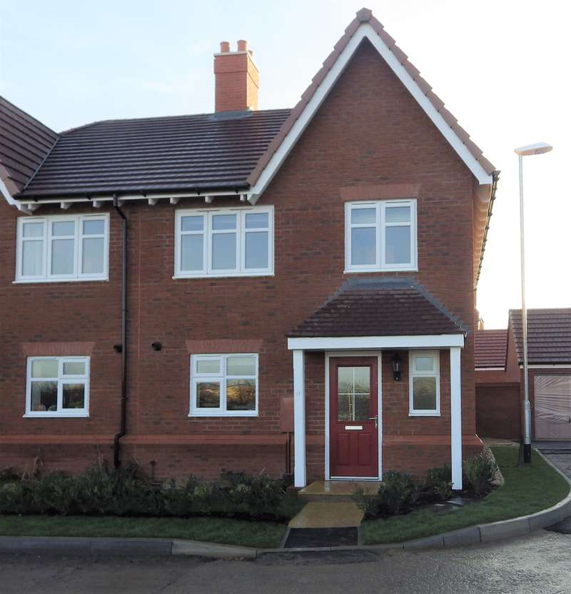 4 Bedrooms Semi Detached House for rent in Welby Close