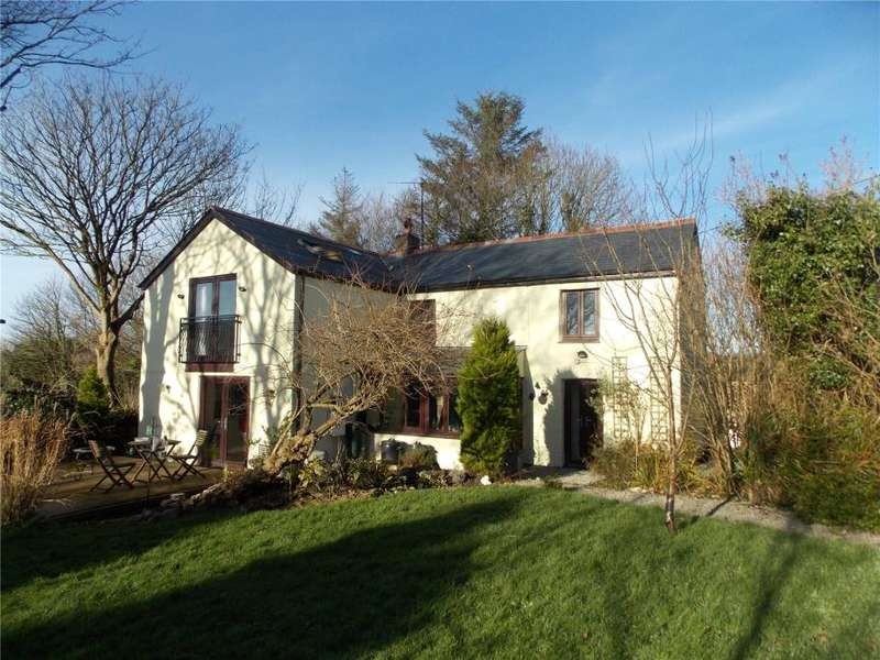 4 Bedrooms Detached House for sale in Penstraze, Truro