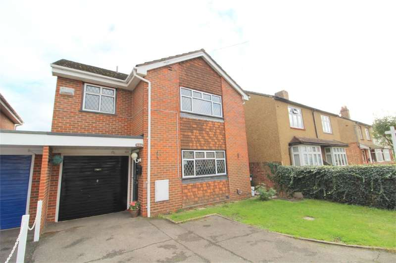 4 Bedrooms Link Detached House for sale in Warwick Road, Ashford, TW15