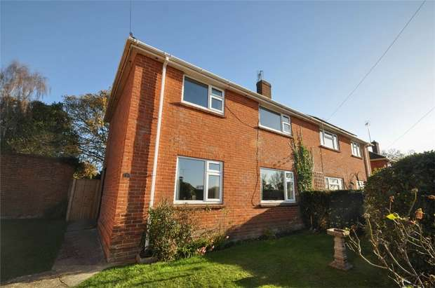 3 Bedrooms Semi Detached House for sale in Fryers Copse, WIMBORNE, Dorset