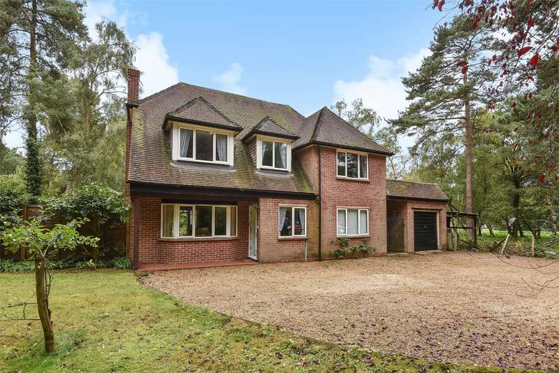 4 Bedrooms Detached House for sale in Old Wokingham Road, Crowthorne, RG40