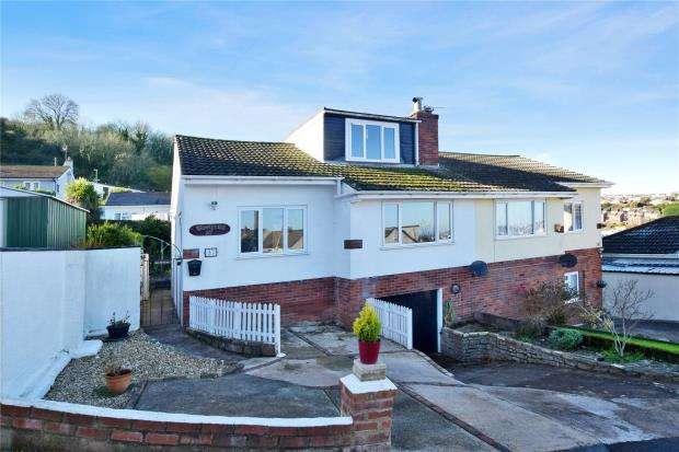 3 Bedrooms Semi Detached Bungalow for sale in Southdown Avenue, Brixham, Devon
