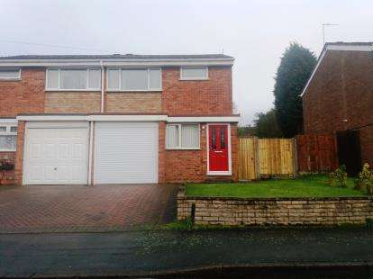 3 Bedrooms Semi Detached House for sale in Avon Road, Burntwood