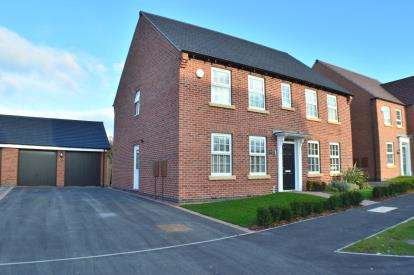 4 Bedrooms Detached House for sale in Galloway Road, Drakelow, Burton Upon Trent, Derbyshire