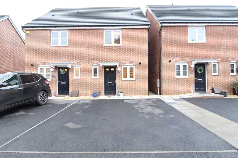 2 Bedrooms Semi Detached House for sale in Obama Grove, Rogerstone, Newport, NP10